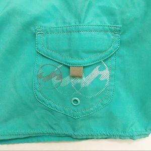 Billabong Shorts - Billabong board cyan/teal shorts